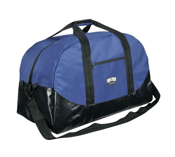 Volkano Notties Series Duffle Bag in Navy and Black with 90 Litre Capacity