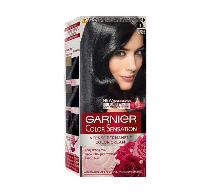 Garnier Colour Sensations 1.0 Ultra Onyx Black (1's)