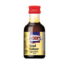 MOIRS Flavouring & Essence Egg Yellow (20 x 40ml)