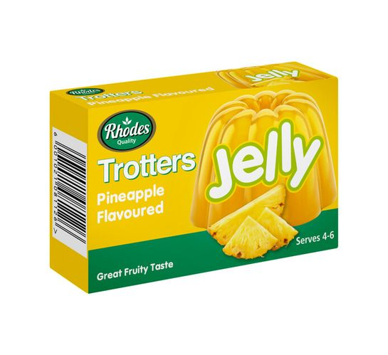 Trotters Jelly Pineapple (1 x 40g)