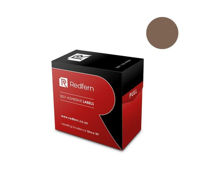 Redfern Self-Adhesive Colour Codes - C13 Brown