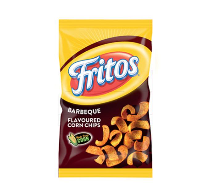 Simba Fritos Corn Chips BBQ (48 x 25g)