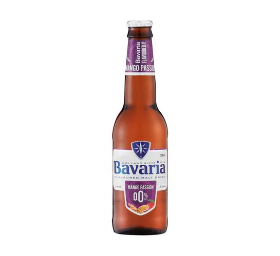 Bavaria Non-Alcoholic Mango Passion NRBs (6 x 330 ml)