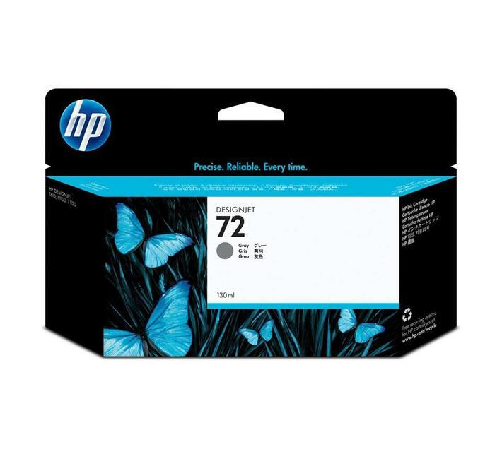HP 72 - grey - original - ink cartridge
