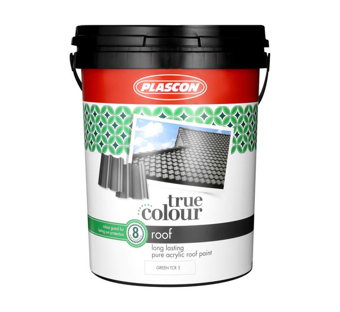 PLASCON 20 l True Colour Roof Green