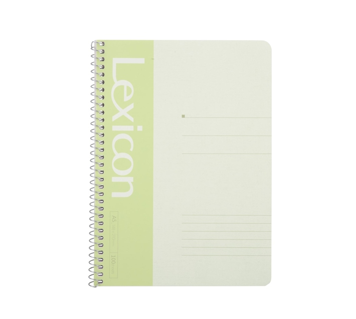 Deli Stationery Wire Bd. Softcover Notebook 100P-A5 Asst.
