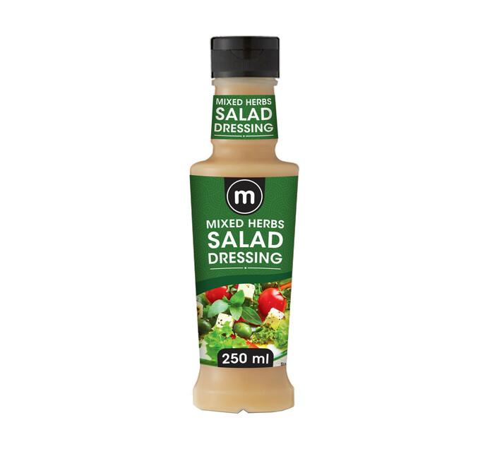 M Brand Salad Dressing Mixed Herbs (1 x 250ml)