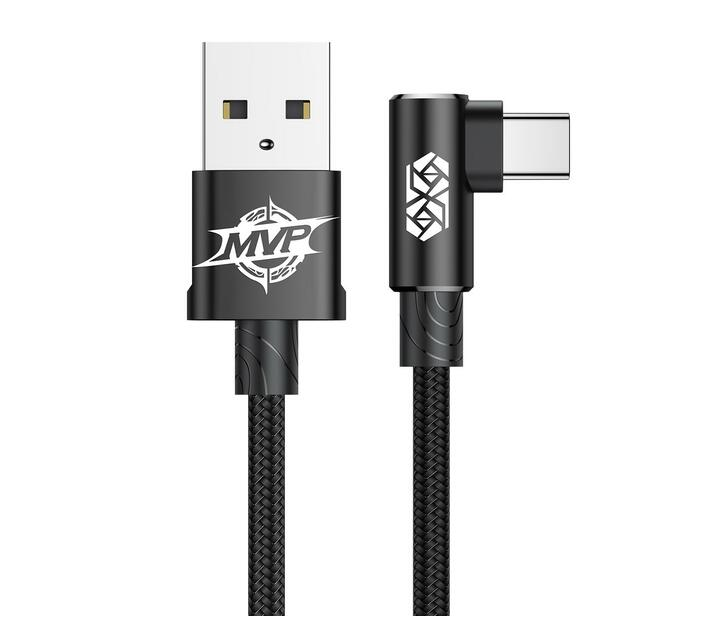 Baseus MVP Elbow USB Type-A 2.0 to Type-C Cable 2A - 1m