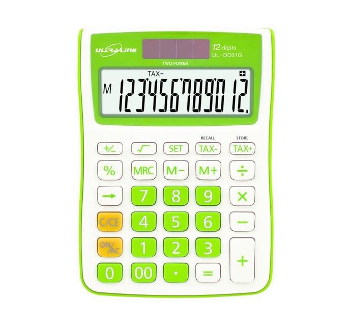 Ultra Link 12-Digit Tax Calculator