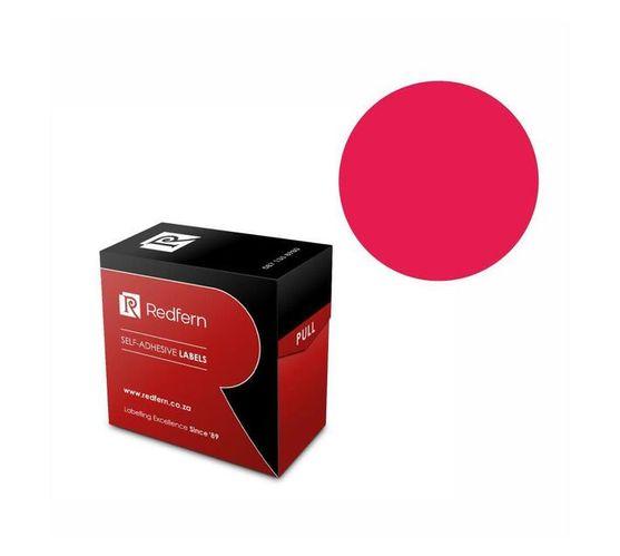 Redfern Self-Adhesive Colour Codes - C32 Flu Pink