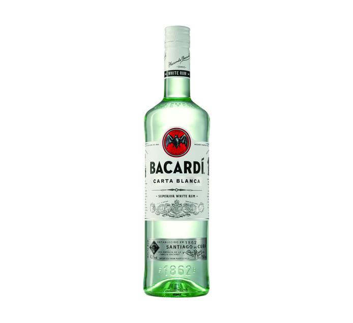 BACARDI Carta Blanca Superior Rum (1 x 750ml)