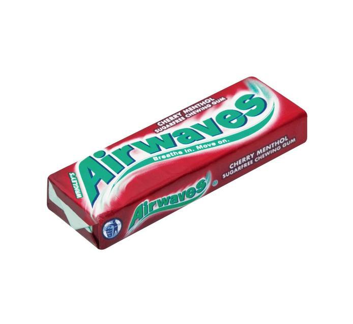 Airwaves Sugar Free Gum Cherry Menthol (1 x 10PC)