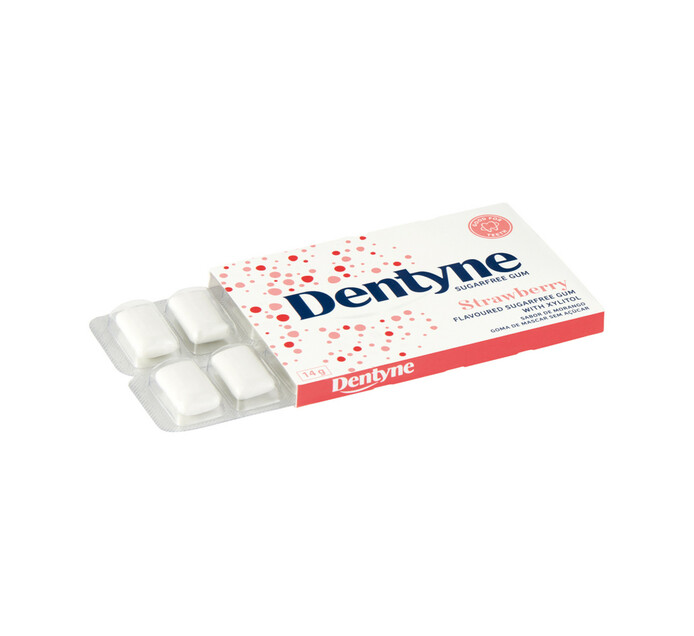 Dentyne Sugar Free Gum Strawberry (24 x 10PC)