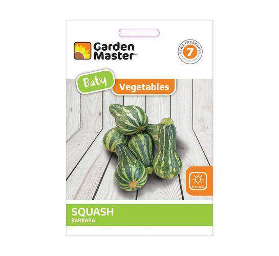 Gardenmaster Baby Vegetables Squash---Barbara