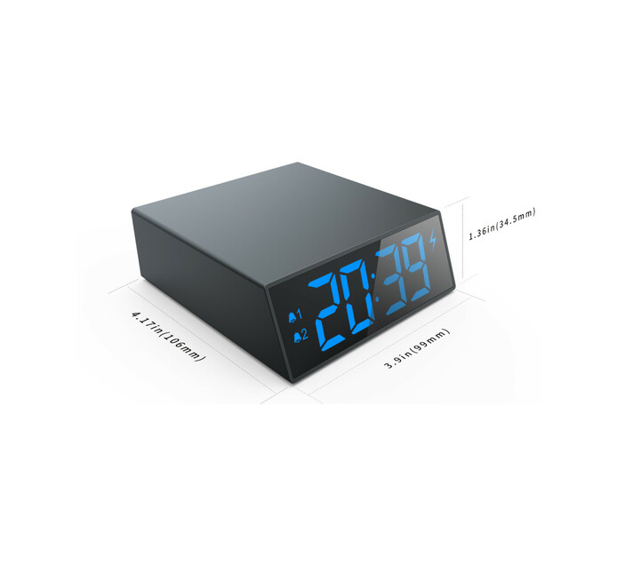 Powerox C202QI Wireless Charger/ Clock