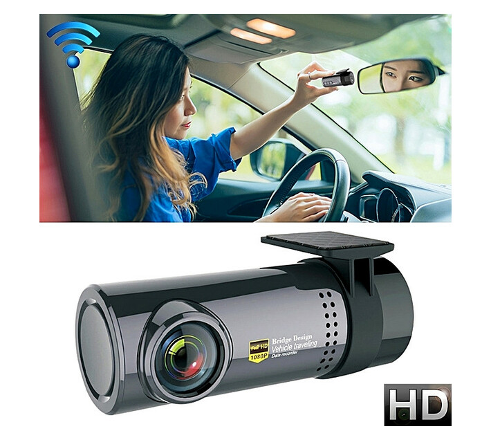 Mini Car Dash Camera WiFi Full HD Camcorder Motion Detection