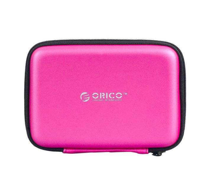 Orico 2.5 Portable Hard Drive Protector Bag Pink