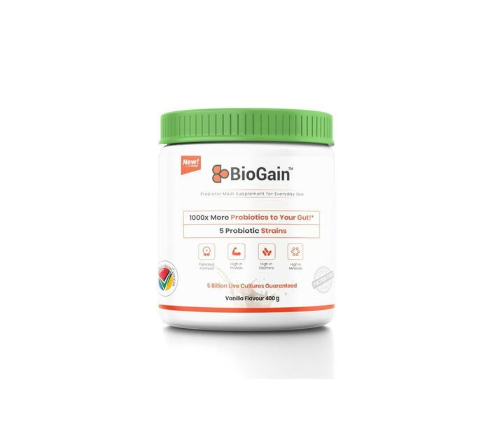 BioGain™ – Probiotics Meal Replacement for Healing and Recovery-Vanilla