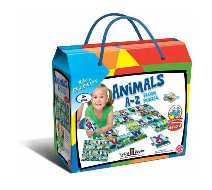 Animals A-Z Floor Puzzle
