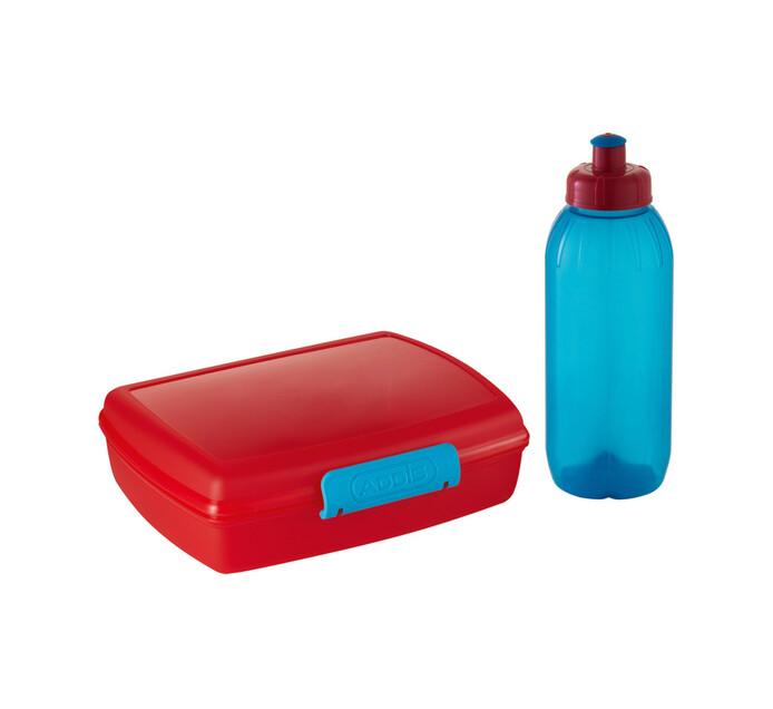 Addis AAddis Lunch Box and Bottle Set