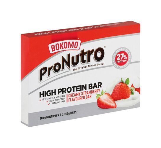 Pronutro High Protein Bar STRWBERRY CRM (1 X 50G X 4)