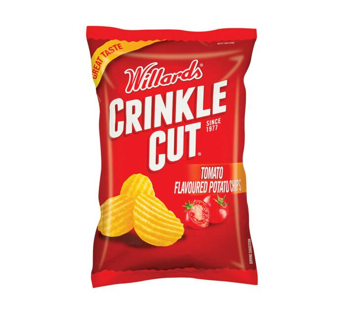 Willards Crinkle Cut Potato Chips Tomato (1 x 125g)