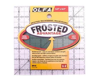QUILT RULER 6 X 6 SQUARE WITH GRID