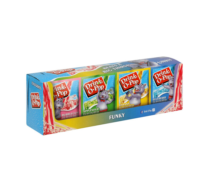 Drink O Pop Powder Drink Funky (72 x 5g)