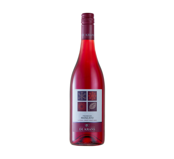 De Krans Moscato Red (1 x 750ml)