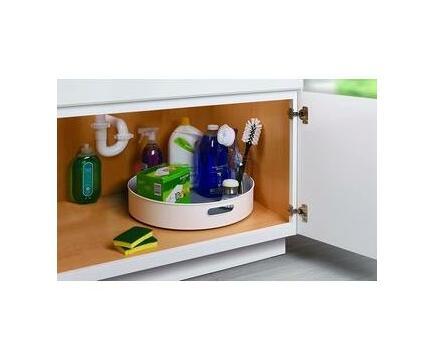 Maisonware Kitchen Cabinet Turntable and Snack Organizer