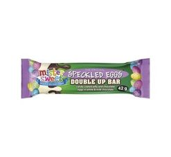 Mister Sweet Speckled Eggs Bars Double Up (42g)