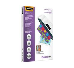 Fellowes ImageLast A4 80 Micron Gloss Laminating Pouches 100-Pack