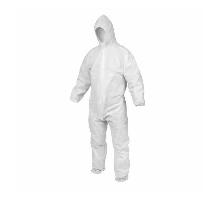 Reusable Coverall WHO Suggested Hood 80gsm-Size L/XL