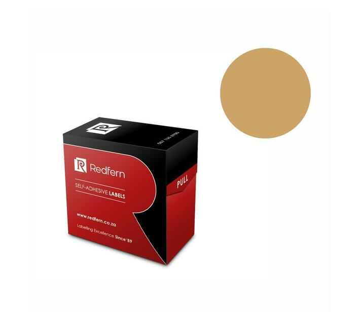Redfern Self-Adhesive Colour Codes - C25 Gold