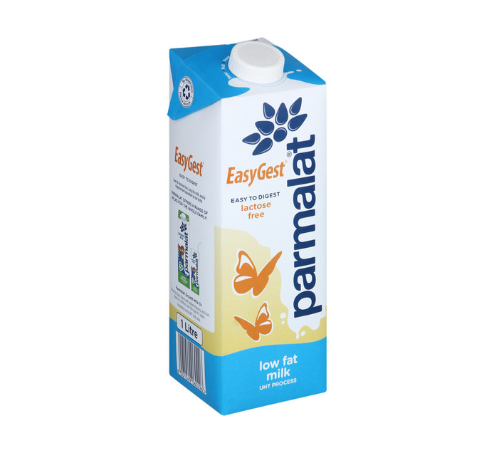 Parmalat Easygest UHT Milk Low Fat (6 x 1lt)