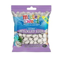 Mister Sweet Speckled Eggs Coconut (1 x 125g)