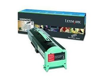 Lexmark X850H21G Black Toner Cartridge 30,000 Pages