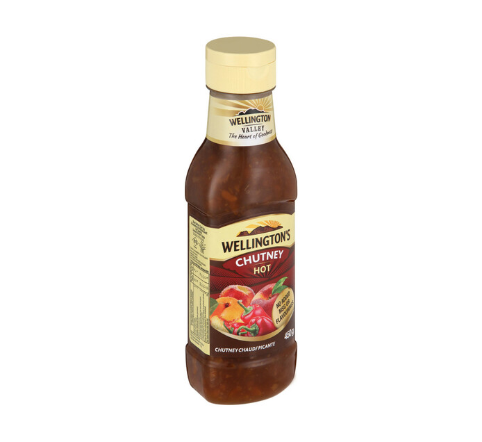 Wellingtons Chutney Hot (1 X 450g)