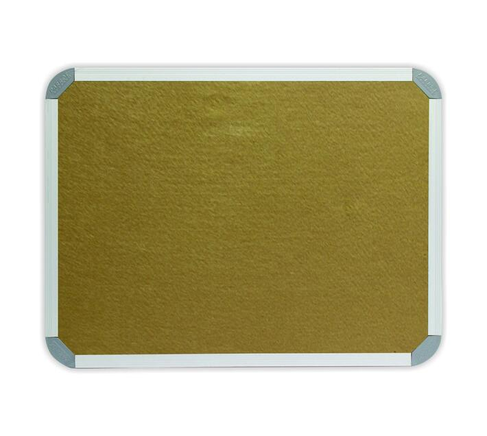 PARROT PRODUCTS Info Board (Aluminium Frame, 900*900mm, Beige)