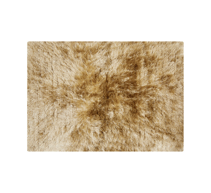 Home Living 60 x 90 cm Shaggy Rug Taupe