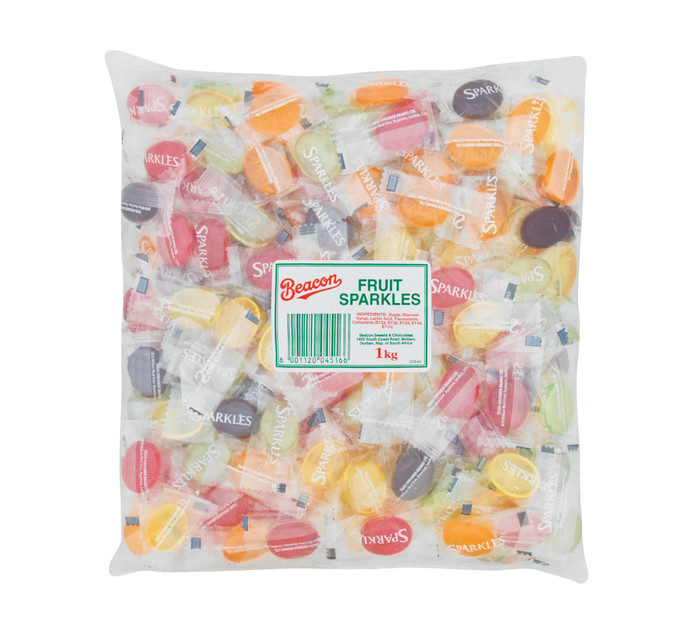 Beacon Sweets Fruit Sparkles (1 x 1kg)
