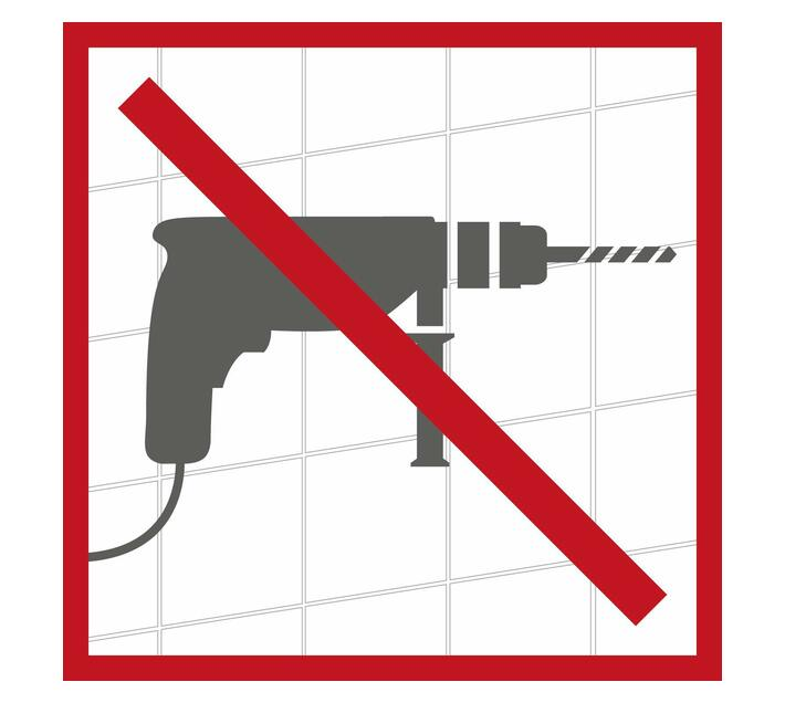 WENKO Turbo-Loc Stainless Steel Towel Rail Uno Quadro Range - No Drilling Required