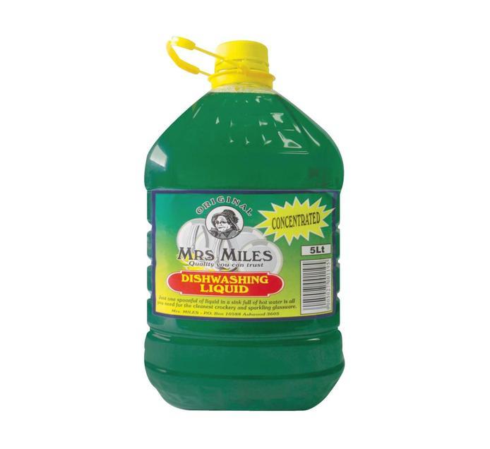 MRS MILES Dishwashing Liquid (1 x 5l)