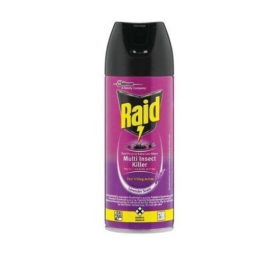 Raid Insect Spray Low Odour (6 x 300ml)