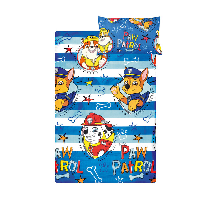 Character Single Duvet Cover Paw Patrol Blue