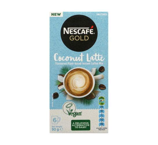 Nescafe Gold Cappuccino Coconut Latte (1 x 90/96g)