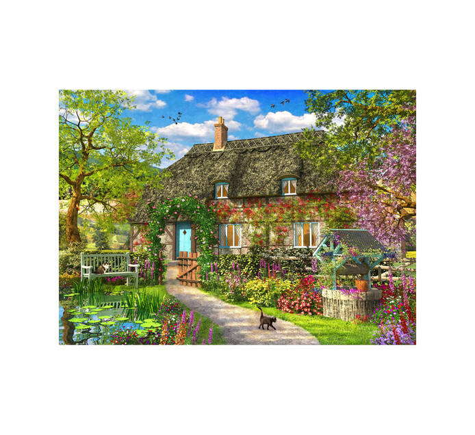 Spring Cottage Puzzle