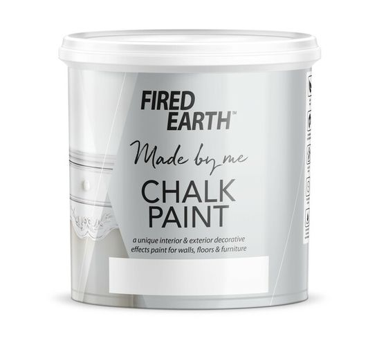 FIRED EARTH CHALK PAINT 1L, CREME BRULEE