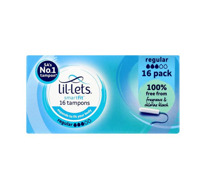 Lil-lets Regular Tampons (12 x 16's)