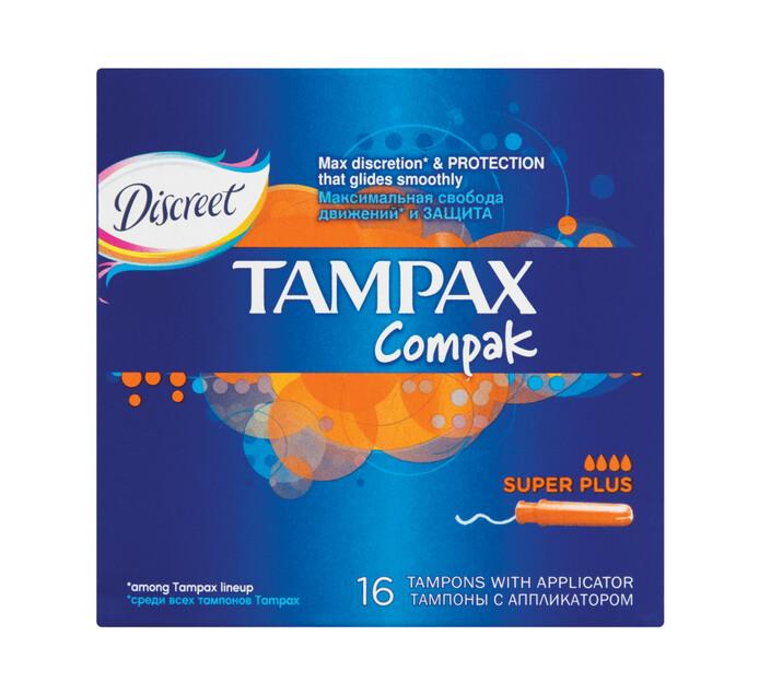 Tampax Tampons Super Plus (1 x 16's)